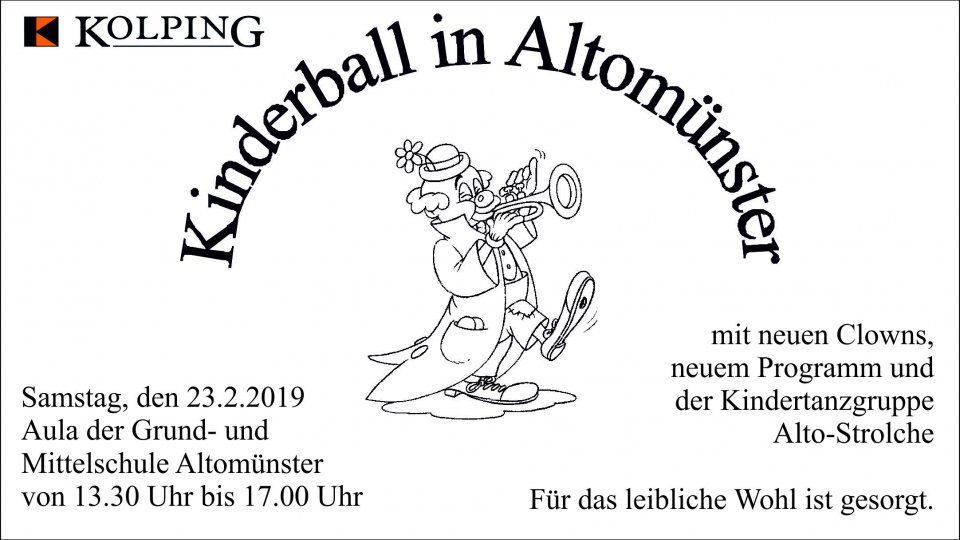 Kinderball in Altomünster